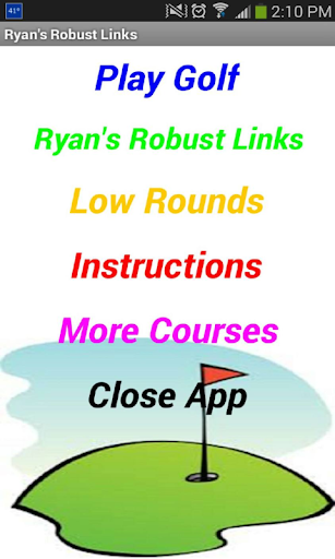Play Golf Now : Robust Links