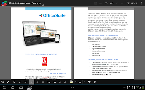 OfficeSuite Pro + PDF (Trial) Screenshot 28