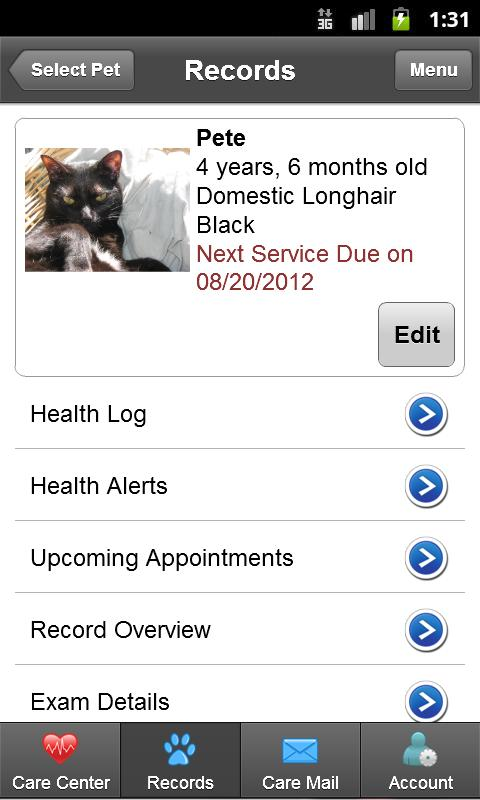 PetSites- screenshot