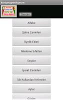 Screenshot of Learn Kurdish