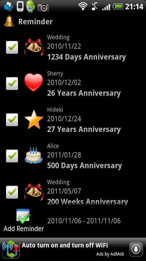 Anniversary- screenshot