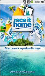 Race It Home - Send Postcards- screenshot thumbnail