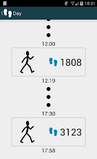 WalkLogger pedometer - screenshot thumbnail