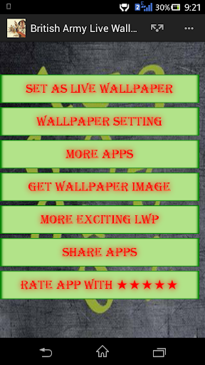 British Army Live Wallpaper