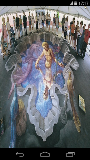 Three Dimensional Floor Art