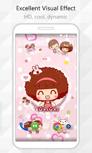 Happy Mocmoc Live Wallpaper