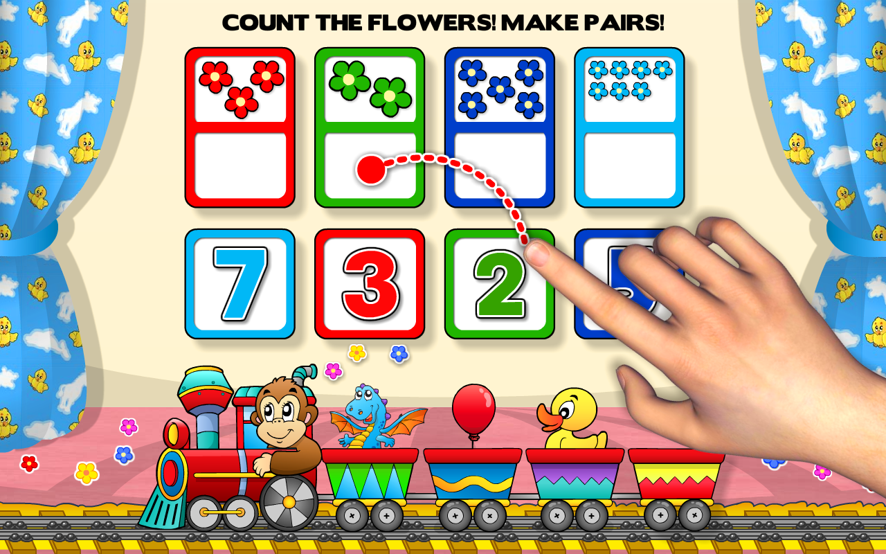 preschool learning games kids screenshot