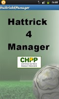 Screenshot of Hattrick 4 Manager