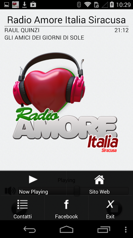 Radio Amore Italia Siracusa- screenshot
