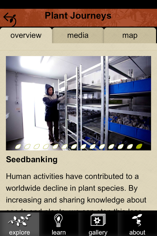 The Australian PlantBank - screenshot