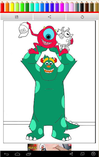 Coloring Book My Monster