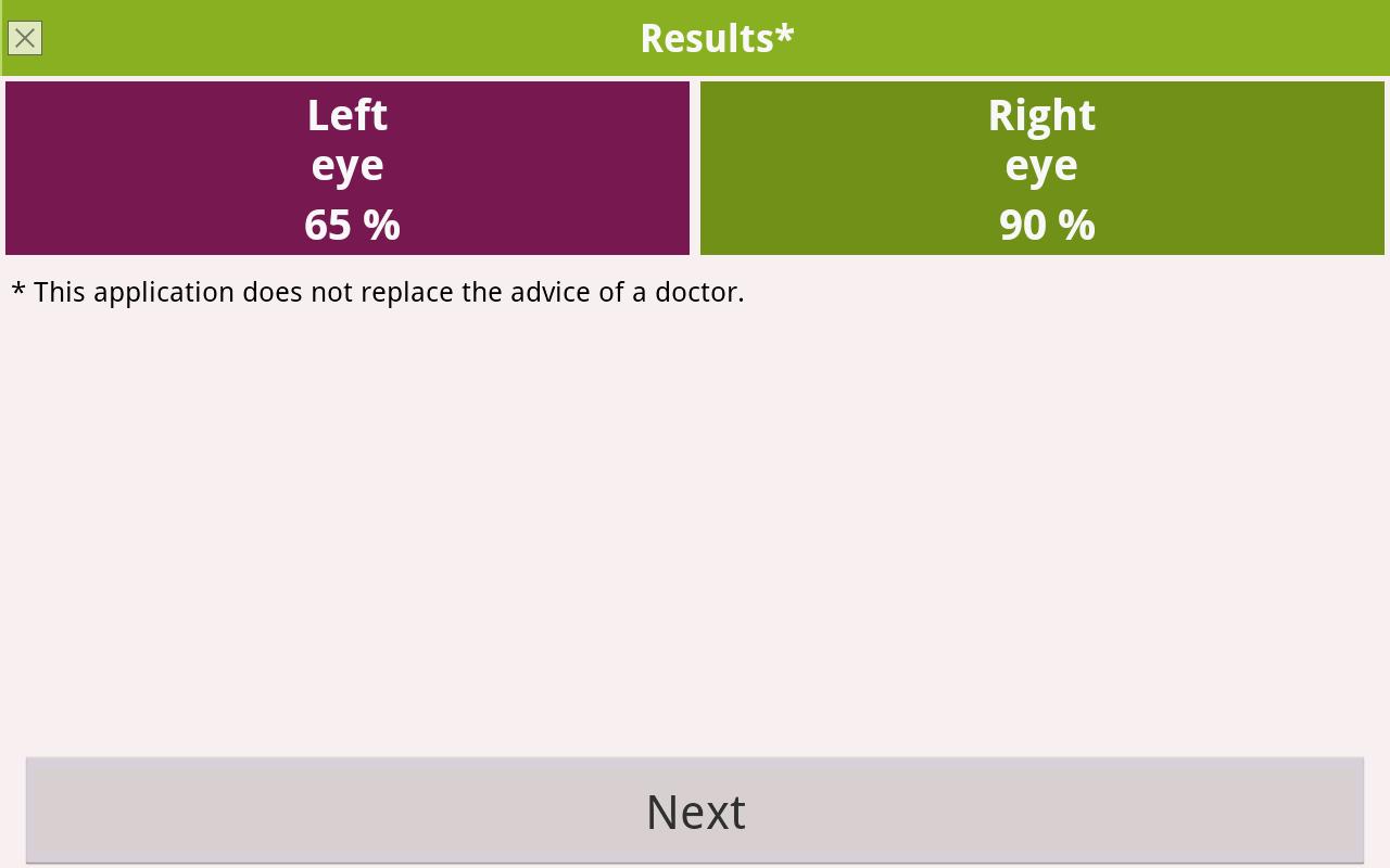 Eye exam android apps on google play eye exam screenshot nvjuhfo Gallery