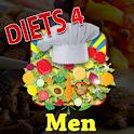 Diets 4 Men logo