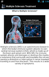 Multiple Sclerosis Treatment screenshot 2