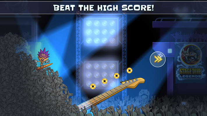 Stage Dive Legends Premium - screenshot