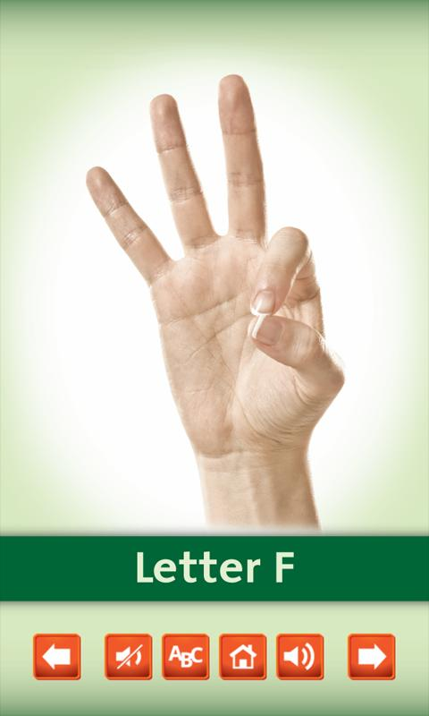 Sign Language Alphabet Cards- screenshot