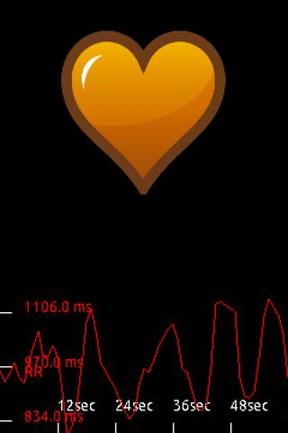 Cardiac coherence- screenshot