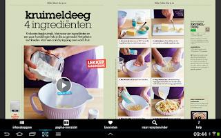 Screenshot of Allerhande van Albert Heijn