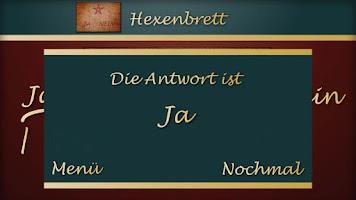 Screenshot of Ja Nein Orakel