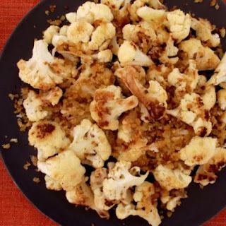 Sam Sifton's Roasted Cauliflower with Anchovy Bread Crumbs