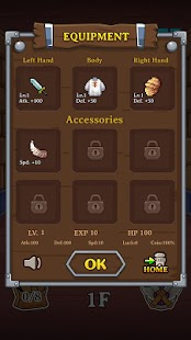 12 Dungeon Quest App screenshot
