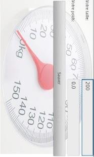 Suivre mon poids (aide régime) - screenshot thumbnail