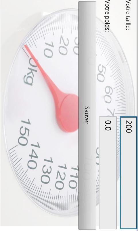 Suivre mon poids (aide régime) - screenshot