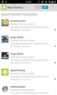 Backup manager for apps & data- screenshot thumbnail