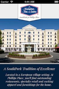 Hampton Inn & Suites SouthPark - screenshot thumbnail