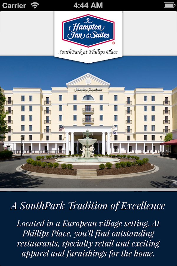 Hampton Inn & Suites SouthPark - screenshot