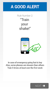 JustShakeIt Emergency Alerter - screenshot thumbnail