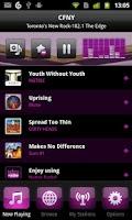 Screenshot of Nobex Radio