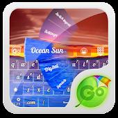 Ocean Sun GO Keyboard Theme