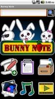 Screenshot of Bunny Note