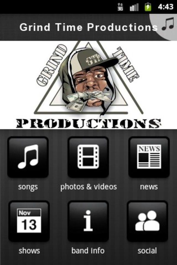 Grind Time Productions - screenshot