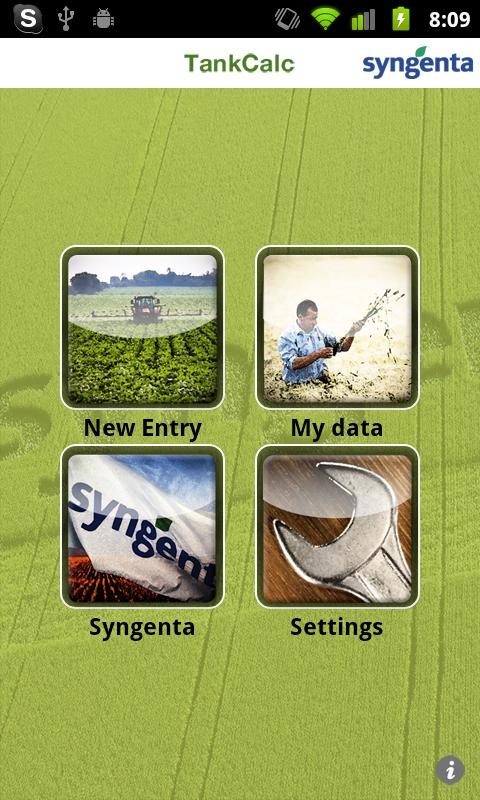 Syngenta TankCalc- screenshot