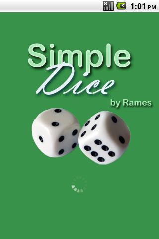 Simple Dice (Free) - screenshot