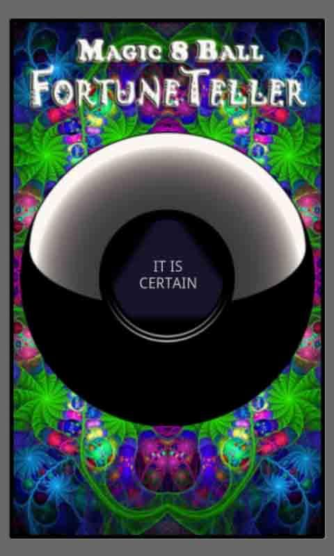 Magic 8 Ball Fortune Teller - screenshot