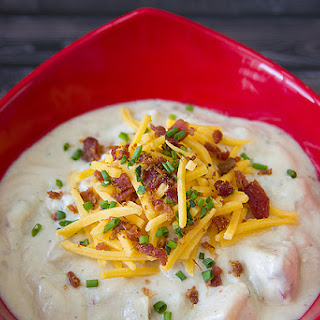 RUSTIC BAKED POTATO SOUP