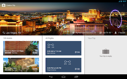 Expedia Hotels & Flights Screenshot 1