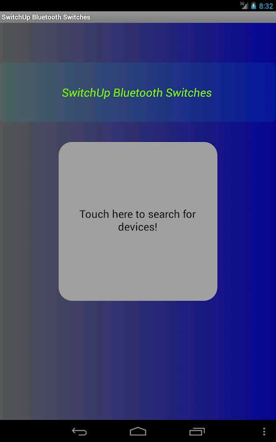 SwitchUp Bluetooth Extension - screenshot