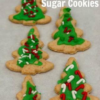 Healthier Sugar Cookies.
