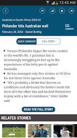 The ESPNcricinfo Cricket App Screenshot 2