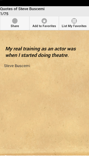 Quotes of Steve Buscemi
