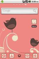 Screenshot of Cute Birdie GO Launcher Theme