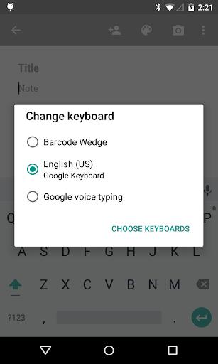 【免費商業App】Barcode Wedge-APP點子