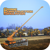 Crane construction simulator
