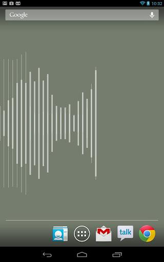 Waveforms Live Wallpaper
