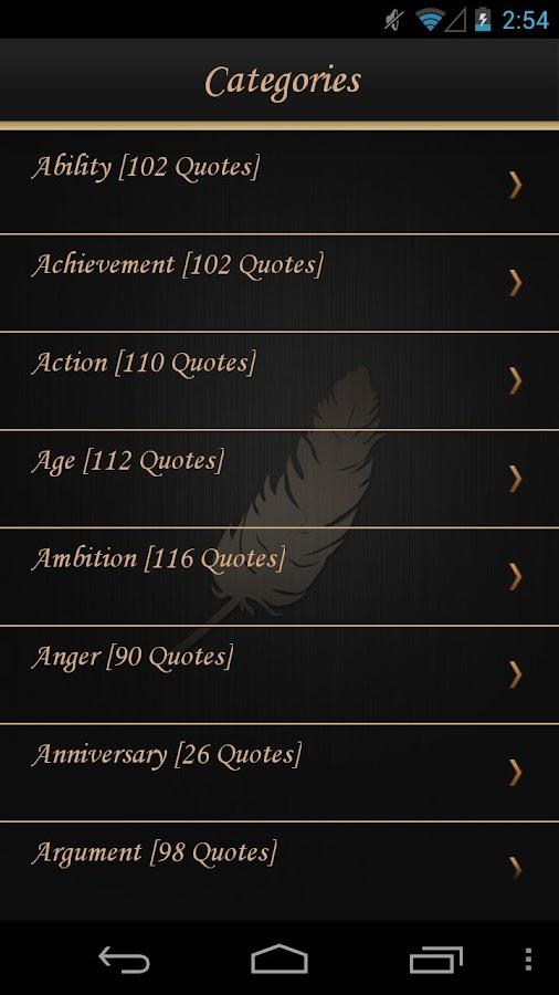 Quotable Quotes - screenshot