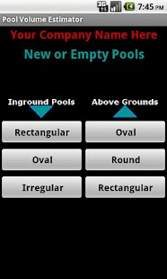 Pool Volume Calculator- screenshot thumbnail